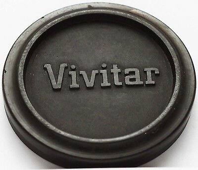 Vivitar Rubber Front Lens Cap 49mm 49 mm Slip-on Made in Japan