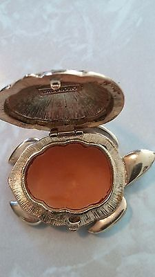 Estee Lauder White Linen TURTLE Beautiful solid perfume compact 3045+ Feedback