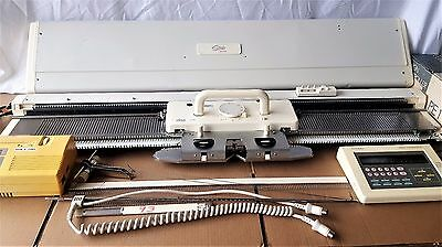 Studio by White SK860 Knitting Machine with EC-1 & PE-1 Design Controllers