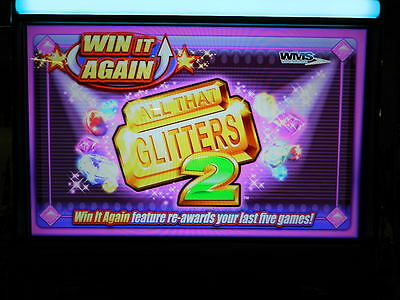 WMS WILLIAMS Game Software Set ALL THAT GLITTERS 2 Bluebird 2 BB2