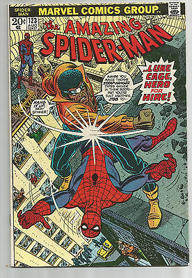 AMAZING SPIDER-MAN # 123 (1973) VF or better