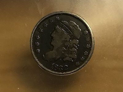 1832 Capped Bust HALF Dime ICG F12 FREE SHIPPING!! NICE TYPE COIN!! ORIGINAL!