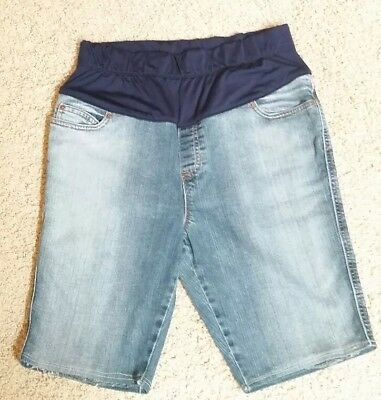 women's Gap  maternity jean shorts size 10