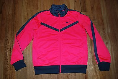 Girls NIKE zip up long sleeve athletic top size 6x-cute!