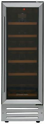Russell Hobbs RHBI8WC1SS 18 Bottle Integrated Drinks Cooler - Stainless Steel.