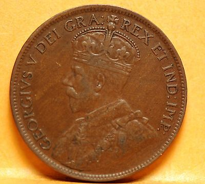 Canada, 1917 Large Cent, Very Fine, No Reserve,                            x28gm