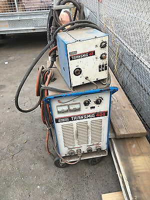 Cigweld Mig Welder 400 Transmig And 4R Wire Feeder 415V