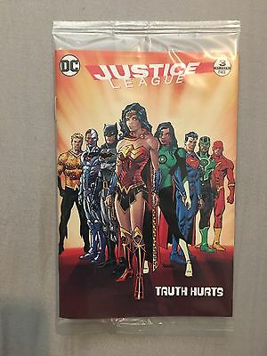 2017 General Mills Cheerios Justice League #3 Comic Book