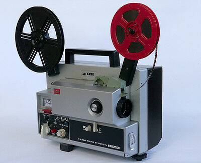 Elmo ST-600-D Super 8mm Movie Projector - 2-Track Sound - FULLY SERVICED