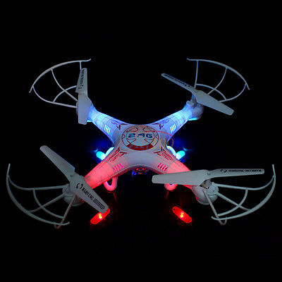 Syma X5C 2.4G 4CH RC Quadcopter Drone FPV HD Camera Helicopter Headless Mode UK