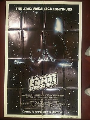 Star Wars Empire Strikes Back One Sheet Advance Teaser Original 27X41 Poster