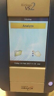 Abaxis VetScan VS2 Chemistry Analyzer Veterinarian Keyboard Power Supply