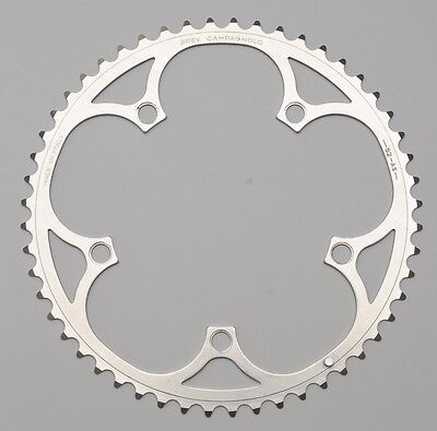 CAMPAGNOLO RECORD 52 - 8 9 10 - BCD 135 mm - NOS NEW super road 52T CHAINRING