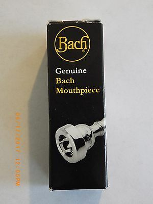 Genuine Bach 3517C Trumpet Mouthpiece NEW silver plated