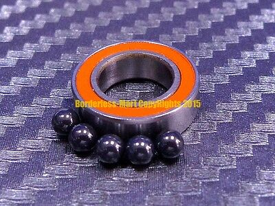 [QTY 1] SMR117-2RS (7x11x3 mm) Hybrid Ceramic Ball Bearing ABEC-7 ORANGE MR117RS