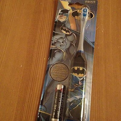 *Brand NEW* Batman Turbo Power Electric Battery Powered Toothbrush Ideal 4 Gift