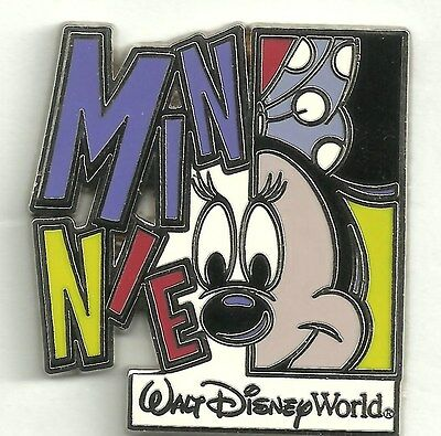 Disney pin Coloeful Character - Minnie Mouse