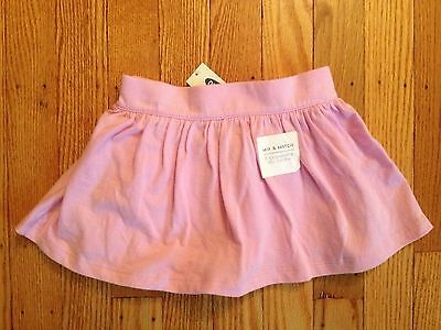 NWT Girl's Old Navy Pink Cotton Knit Skort - Size 12-18 Months