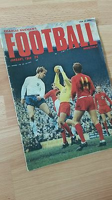 Charles Buchan's Football Monthly  January 1968