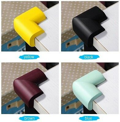 8Pcs Soft Safety Child Baby Corner Edge Protectors Protection Guard Cushion JF