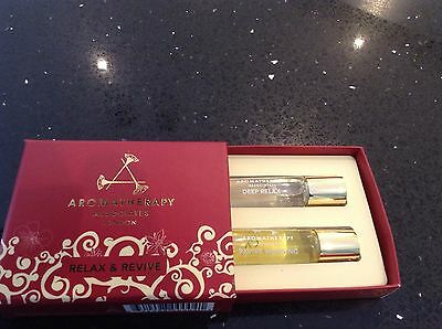 Aromatherapy Associates Relax & Revive Oils set