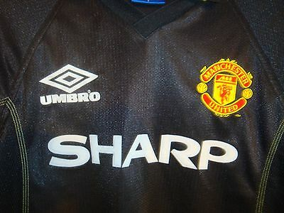 Manchester United Third football shirt 1998 - 1999 size L rare
