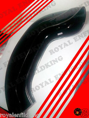 New Royal Enfield Black Painted Rear Mudguard 350Cc Best Quality