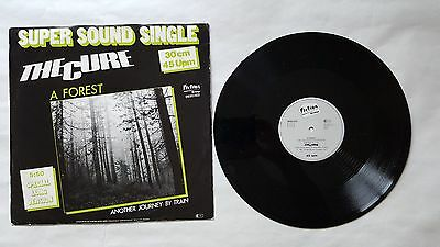 """THE CURE A Forest 12"""" Germany includes 5:50 Version & Another Long Journey By"""