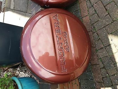 Vauxhall Frontera 4x4 Spare Wheel cover with key