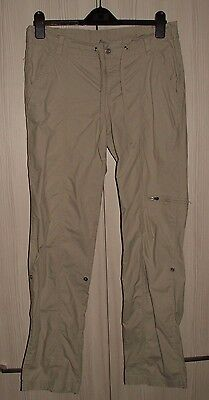 Size 8 - COLUMBIA 'grt' - Women's Hiking Trousers - Adjustable Leg - Brand New