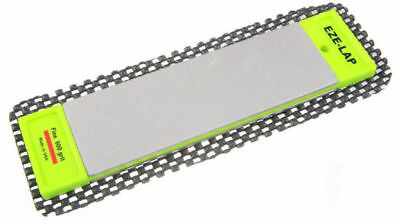 "Eze-Lap Diamond Sharpener Double Sided  Ezelap Fine/coarse 6"" X 2 Ezelap"
