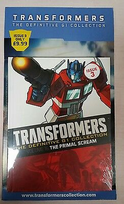 Transformers (The Definitive G1 Collection) - Issue 3 graphic novel NEW & SEALED