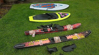 Vintage O'brian Water Skis and Boards