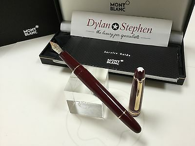montblanc meisterstuck classique 145 chopin bordeaux burgundy fountain pen RARE