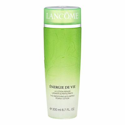 LANCOME Energie De Vie The Smoothing & Plumping Pearly Lotion 200ml New & Sealed