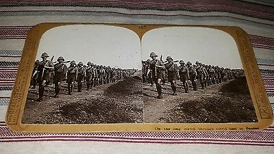 Stereoview Photograph Military