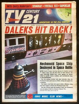 TV Century 21 #50 - 1966 - Dr Who and the Daleks Cover - TV21 - All Complete