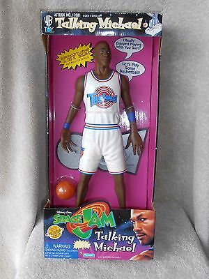 1996 NRFP Talking Michael Jordan Space Jam Warner Bros Doll HE TALKS