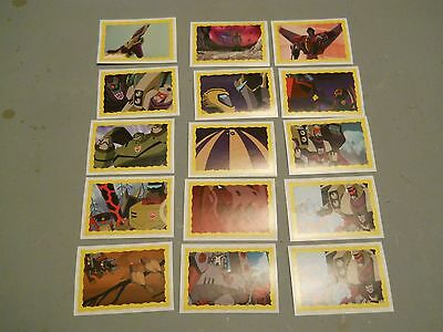 Transformers Animated panini stickers