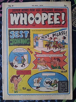 WHOOPEE! Comic - Issue No 9 - 1974 - UK Paper Comic