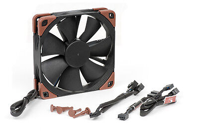 Noctua NF-F12 industrial PPC-3000 PWM 120 x 120 x 25 mm case fan 4 pin 3000 rpm