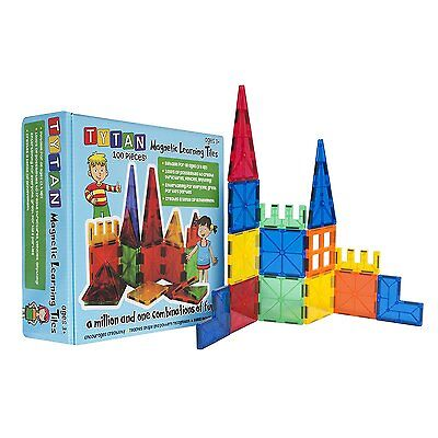 New Tytan Magnetic Learning Tiles Building Set (100-Piece) Children's Kids Toy