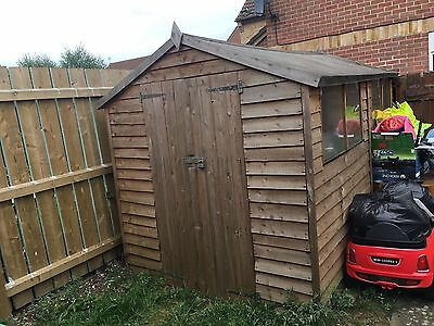 Wooden Garden Shed 8' x 6'