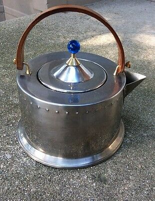 RETRO Mid Century Bodum Stainless tea pot designed by C. Jorgensen