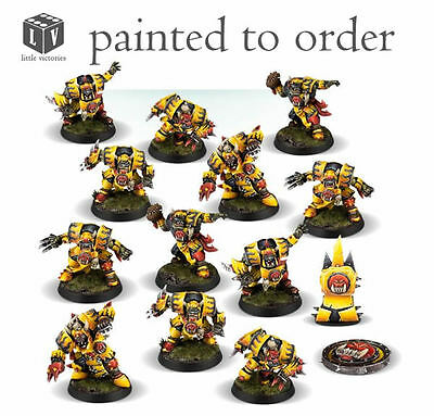Blood Bowl Orcland Raiders Team - Pro painted to order