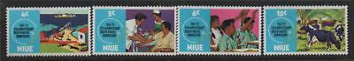 Niue 1972 Sth.Pacific Commision SG170/3 MNH