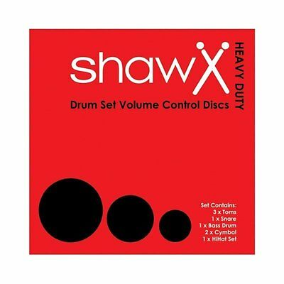 Shaw Rock Drum Kit Volume Control Disk with Cymbal Set