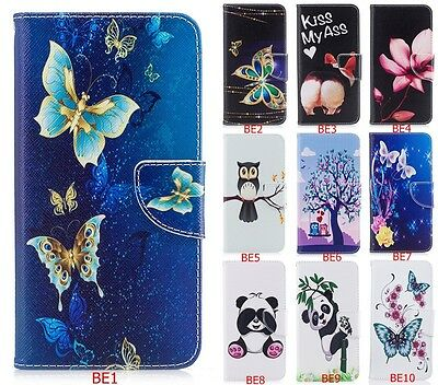 Magnetic Hybrid Style Flip PU Leather Card Pocket Case Soft Cover For SAMSUNG B9