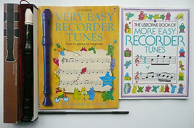 Dolmetsch Descant Recorder In Original Box Vgc - With Extras!