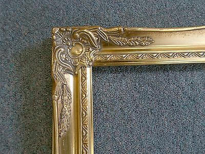 Picture Frame-Vintage Bright & Dk Gold Antique Ornate Classic Baroque-678G 16x20